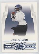 2007 Donruss Threads Century Proof Blue #203 Josh Wilson Seattle Seahawks Card