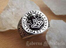 """Ring """"Thors Hammer"""" aus 925er Silber - Siegelring Mjölnir - Wikinger Schmuck"""