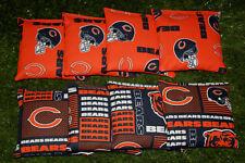Cornhole Bean Bags Set of 8 ACA Regulation Bags CHICAGO BEARS