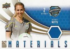 2010 Upper Deck Major League Soccer 'WPS Materials' Card Different Variations