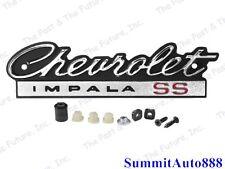 1966 66 Chevy Impala Grill Grille Emblem - Chevrolet IMPALA SS IMEM66-1