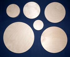 Runde Holzscheiben aus 10 mm starkem Birkenmultiplex Kreisscheibe Ronde
