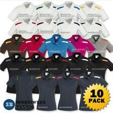 10 x Ladies United Polo Shirt Top Sports Team Womens Sizes 8 10 12 14 16 P244LS