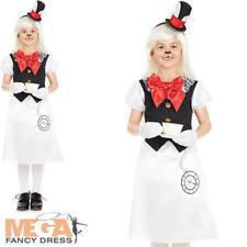Miss Rabbit Girls Fancy Dress Wonderland Fairy Tale World Book Day Kids Costume