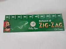 Zig Zag Cigarette Rolling Papers Rizla Green Tobacciana Smoking NEW
