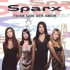 Sparx : Tiene Que Ser Amor CD