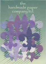 50 x DIE CUT FLEUR-DE-LIS forme / Mulberry Carta / artigianato / Cardmaking / Decoupage / ARTE