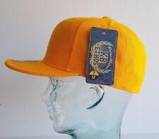 KB Ethos Fitted Plain Caps Plat Pic BNWT Hip Hop Snapback/casquette de baseball OR