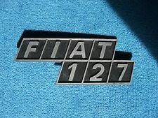 Emblem Badge Fiat 127 Plastik