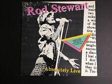 ROD STEWART Absolutely Live LP 9 237431G Double LP Gatefold VG+