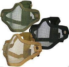 Viper Tactical CROCE ACCIAIO FACE MASK Airsoft Paintball Protezione VENTILATO NUOVO