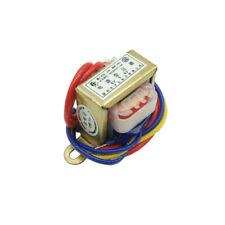1W-100W EI MINI Power Transformer 220VAC TO 6V/9V/12V/15V/18V/24VAC Dual Output