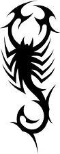 Tribal Scorpion Car,Land Rover Van 4x4 Bike Stickers ~2
