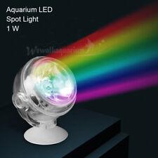 Aquarium LED Fish Tank Spot Light RGB Water Plant Grow Light Lamp Lighting 1W