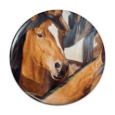 Horses Gridlock Compact Pocket Purse Hand Cosmetic Makeup Mirror