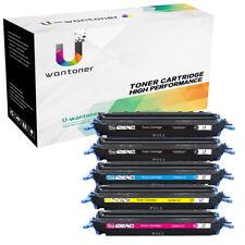 Black Color Toner Set For HP LaserJet 1600 2600 2600n 2605 2605dtn Q6000A 124A