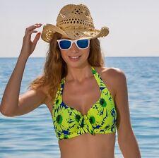Reducido.. pour Moi? 28002 Crazy Daisy Aros Halter Bikini Top 32-28 C-H