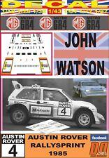 DECAL MG METRO 6R4 JOHN WATSON AUSTIN ROVER RALLYSPRINT 1985 (03)