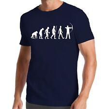 Evolution Bogenschießen T-Shirt | Pfeil | Sportschießen | Waffe | Arrow