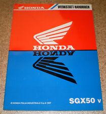 Werkstatthandbuch Honda SGX 50 v Stand 1997