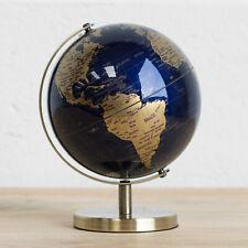 18.5cm Plastic Rotating World Globe Map Atlas Kids Childrens Bedroom Decoration