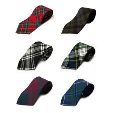 Ingles Buchan Scottish Tartan/Plaid Tie - 100% Wool - Made in Scotland