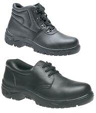 Baskets de Sécurité pour Hommes Chaussures Bottes Travail Acier Protège Orteils