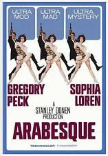 Arabesque---GREGORY PECK-SOPHIA LOREN (DVD, 2011)