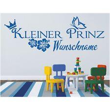 Wandtattoo Kleiner Prinz Kind Name Wunschname Wunschtext Sticker Wandaufkleber 1