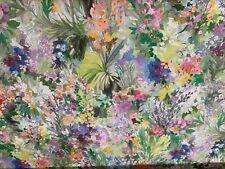 Secret garden Eden Panama Cotton Fibre Naturelle 140cm wide  Curtain Fabric