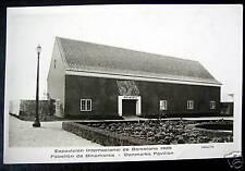 Spain~1929 Barcelona~Intl Exposition~Denmark Rppc