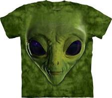 "The Mountain T-shirt bambini "" VERDE ALIEN FACE """