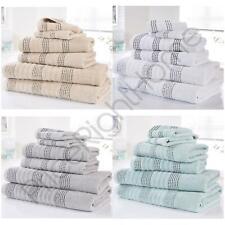 Spa 6 Piece Towel Bale 100% Cotton Bath Set