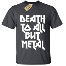 Kids Boys Girls DEATH TO ALL BUT METAL T Shirt Steel Panther Rock Alternative