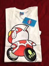 Kpop Colonize White With Red Doraemon Tee Shirt Korea Big Bang SNSD 2NE1