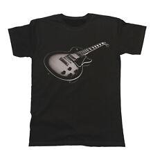Guitarra Eléctrica Unisex Camiseta para Hombre & Damas Instrumento de Música Banda Festival