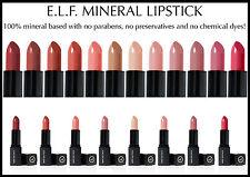 E. L. F ELF Studio Natural Mineral Maquillaje Pintalabios rosa nude Rojo Cereza