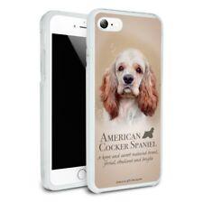 American Cocker Spaniel Dog Breed Slim Hybrid Case Fit iPhone 8, 8 Plus, X