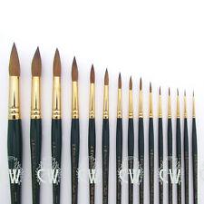 Pro Arte Artists Renaissance Sable ROUND Brushes for Artist Watercolour Painting