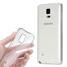 Pour Samsung Galaxy S4 / S6 / S6 Edge - Coque Gel Silicone Transparent aux choix