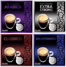 ITALIAN Espresso ESE PODS! EASY SERVE PAPER PODS! Karoma Various Flavors!