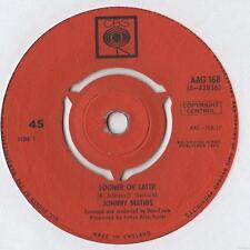 "Johnny Mathis - Sooner or Later 7"" Single 1963"