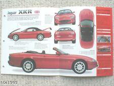 1998/1999 JAGUAR XKR XK IMP Folleto