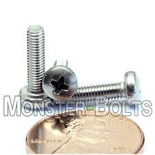 M3 x 12mm  Stainless Steel Phillips Pan Head Machine Screws, Cross Recessed A2