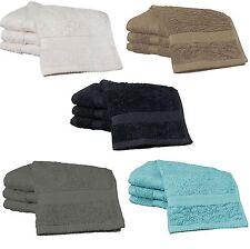 20 Cotton Rich Flannels Face Cloths 30x30cm