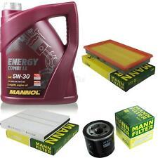 cambio aceite Kit 5l Mannol Energía Combi LL 5w-30 Mann SM Servicio 10043724