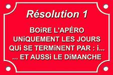 PLAQUE DÉCORATION CAFÉ BAR RICARD BISTROT Résolution 1 30X20cm ALU