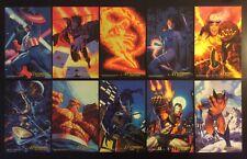 1994 Marvel Masterpieces Promo Master Prints 10x6 Card Set + Singles You Choose