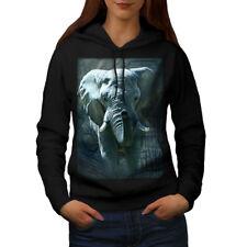 Enorme Elefante Caminar Mujeres Con Capucha Nueva | wellcoda
