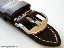 OEM-Style EDELSTAHL BREITDORNSCHLIESSE VERSCHRAUBT POLIERT 20, 22, 24, 26 mm
